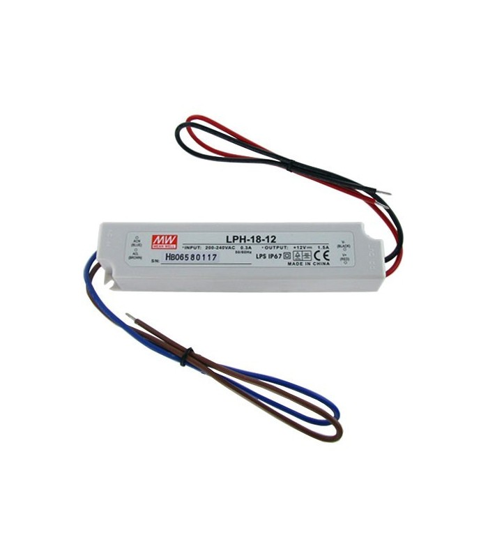 Power supply 12 V / 1,500 mA