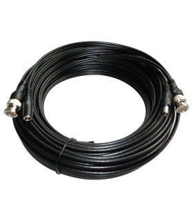 Extensão de cabo coaxial com alimentação 20 metros