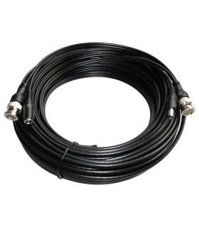Extension de câble coaxial avec câble d'alimentation 20 mètres