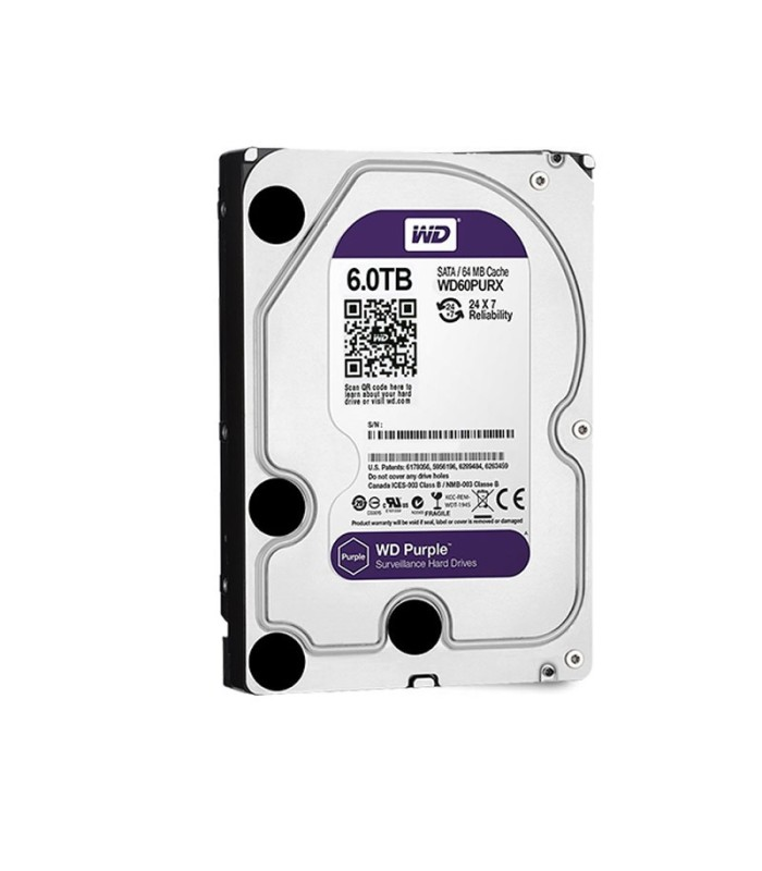 Hard Drive specific for video survellance 4 TB WD Purple