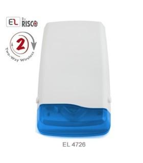 Sirene exterior sem fios EL-4726 para central iConnect 2-Way da Electronics Line