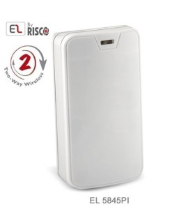 Rilevatore di movimento wireless 1 & 2 vie Pet Immune fino a 45Kg, Electronics Line EL-5845PI