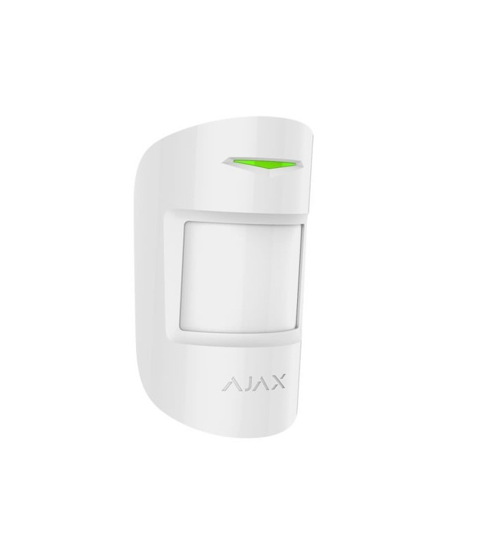 Wireless Motion Detector Dual Technology Pet Immune AJ-MOTIONPROTECTPLUS-W Withe