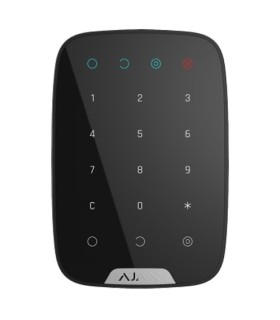 White two-way wireless keypad for Ajax alarms