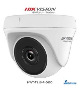Cámara domo Hikvision 720p ECO - HWT-T110-P-0600