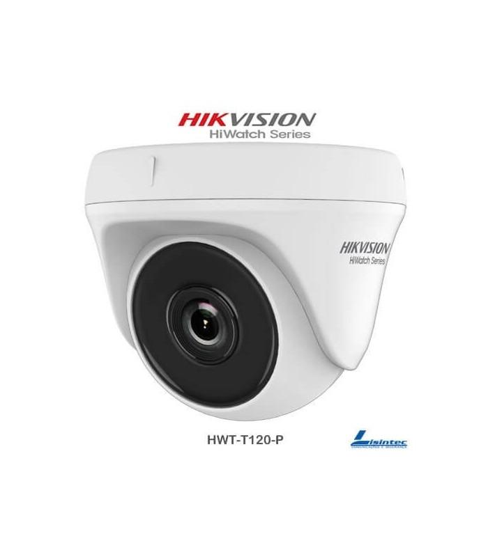 Caméra dôme Hikvision 1080p objectif 2.8 mm - HWT-T120-P