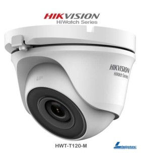 Hikvision Dome Camera 1080p, 2.8 mm Lens - HWT-T120-M