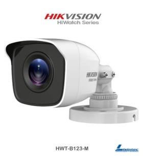 Cámara Hikvision 1080p PRO 4 en 1, lente 2.8mm - HWT-B123-M