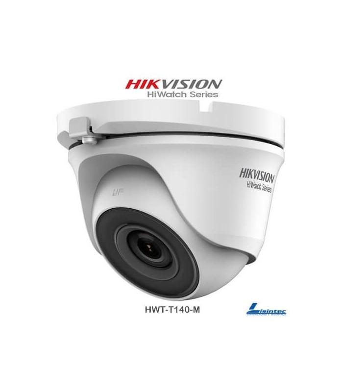 Caméra dôme Hikvision 4Mpx, objectif 2.8 mm - HWT-T140-M