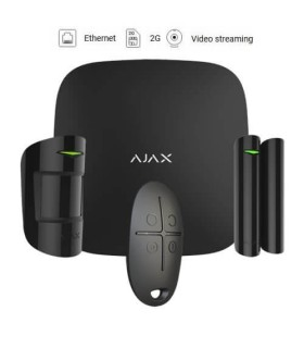 Kit de alarme wireless Ajax AJ-HUBKIT-B Black