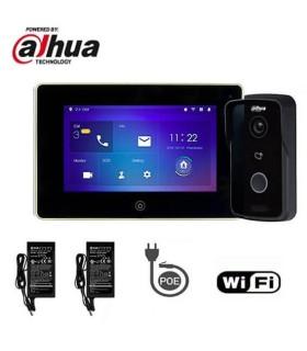 Video Doorphone Kit, WIFI, Dahua consisting of VTO2111D-WP + VTH5221DW
