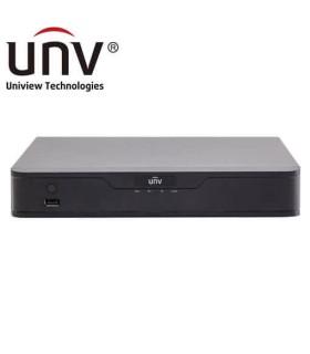 NVR301-04-P4 - Gravador IP Uniview de 8 canais e 8 portas PoE