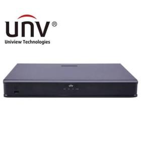 NVR304-16E-B - Gravador IP 4K UNIVIEW, 16 canais, capacidade para 4HDD