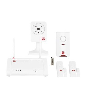 Alarma con cámara de vídeo a través de Internet - Oplink