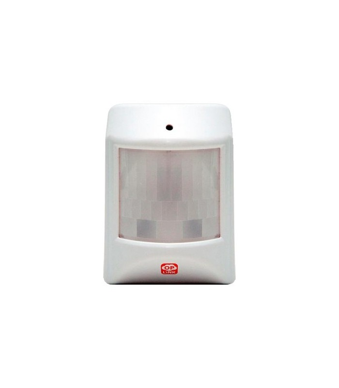 Wireless motion detector to alarm Oplink