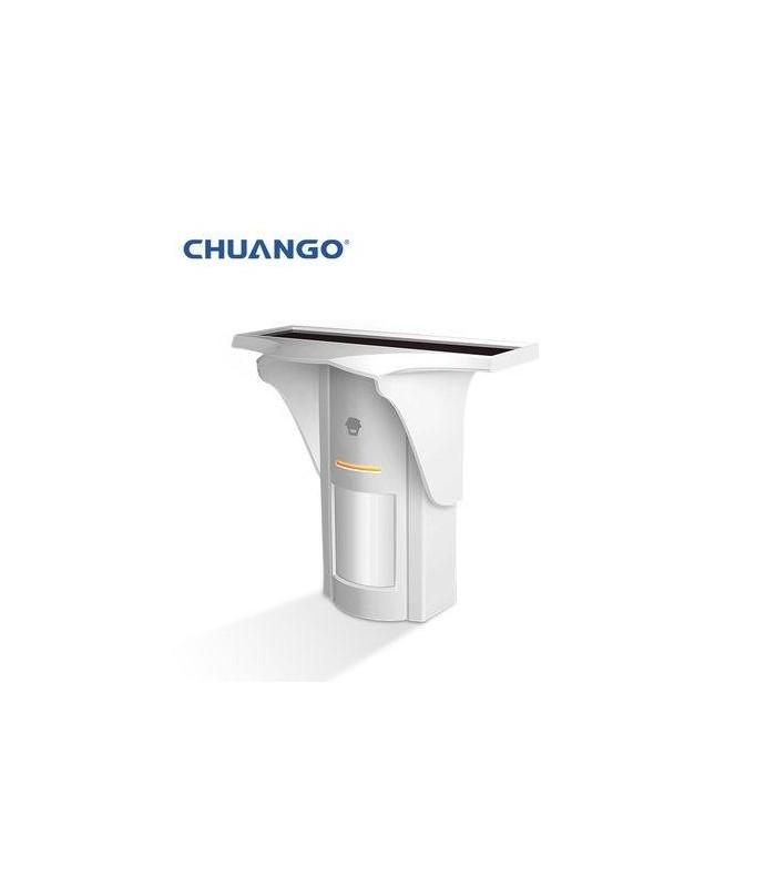 Chuango Solar-Powered Dual-Tech Motion Detector