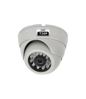 Caméra de surveillance mini-dôme 800 lignes avec vision nocturne jusqu'à 25m