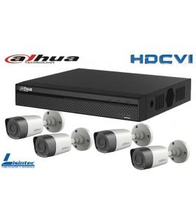 Kit Video Surveillance DVR with 4 cameras HDCVI Dahua