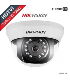 Cámara Domo HDTVI Hikvision HD 720p de interior