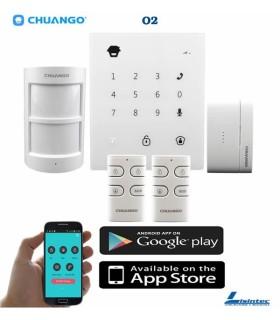 Kit alarma inalámbrica GSM CHUANGO GO2